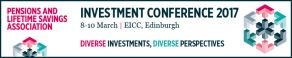 Pensions & Lifetime Savings Association - Investment Conference March 8th - 10th March Edinburgh