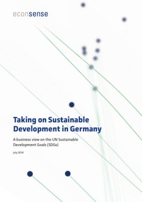 Taking on Sustainable Development in Germany: A business view on the SDGs