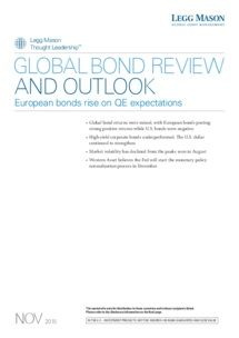 Legg Mason - Global bond review and outlook: European bonds rise on QE expectations
