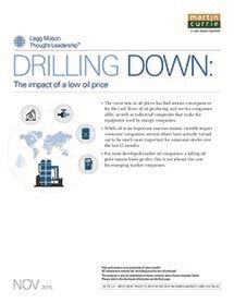 Legg Mason - Drilling down: The impact of low oil prices