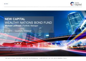 New Capital - Wealthy Nations Bond Fund update Q3