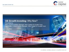 New Capital - US Growth Investing: Why Now?